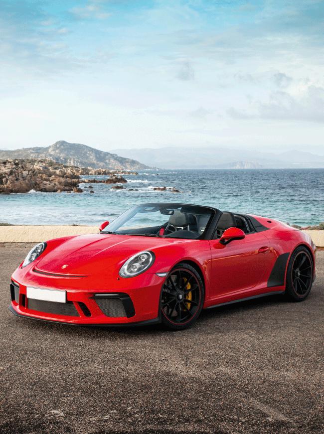 JSE Magazine: Porsche convertible 2020